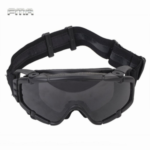 Image 1 - FMA Tactical SI Ballistic Anti fog Goggles with Fan Anti dust Outdoor Airsoft Paintball Safety Glasses Eyewear with 2 Lens