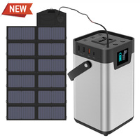 110V/230V Lithium Portable Generator 200Wh/54000mAh Portable Power Station Power Bank UPS Backup Battery Charger for Outdoors.