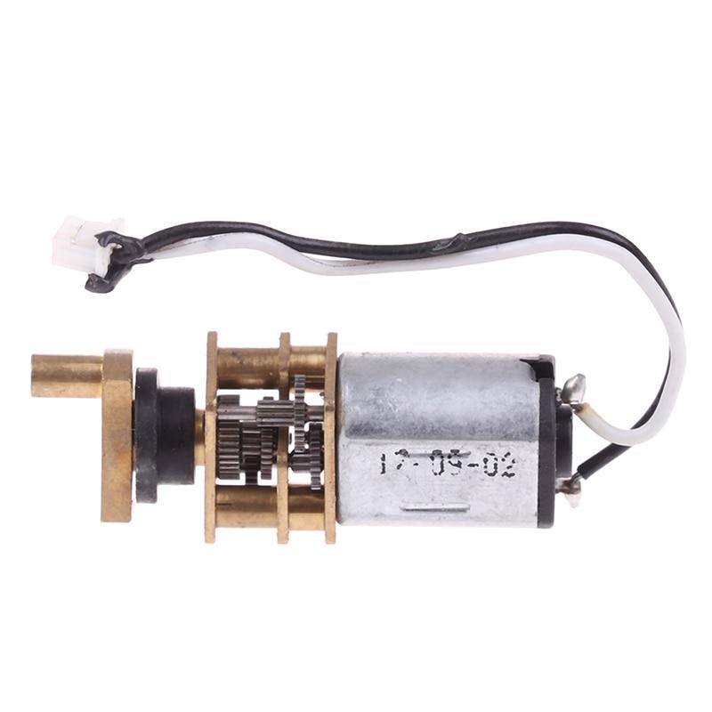 Сильный магнитный N20 редуктор ed мотор с медным поворотным рычагом, все стальные шестерни точность отпечатков пальцев замок мотор DC3V-6V, 30 об/мин-60 об/мин