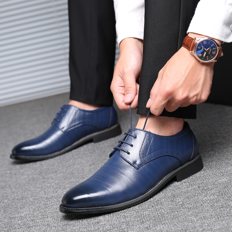 Party Wedding Dress Shoes Men Leather Oxford Shoes For Men Zapatos De Hombre De Vestir Formal Shoes Men Sapato Social Masculino