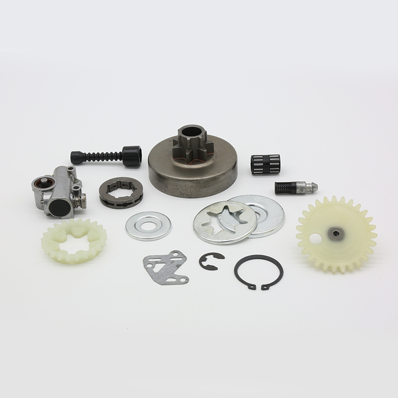 3 8inch Clutch Drum Sprocket Rim Oil Pump Filter Line Washer Repair Kit For Stihl MS380 MS381 MS 038 381 380 Felling Chainsaw Parts