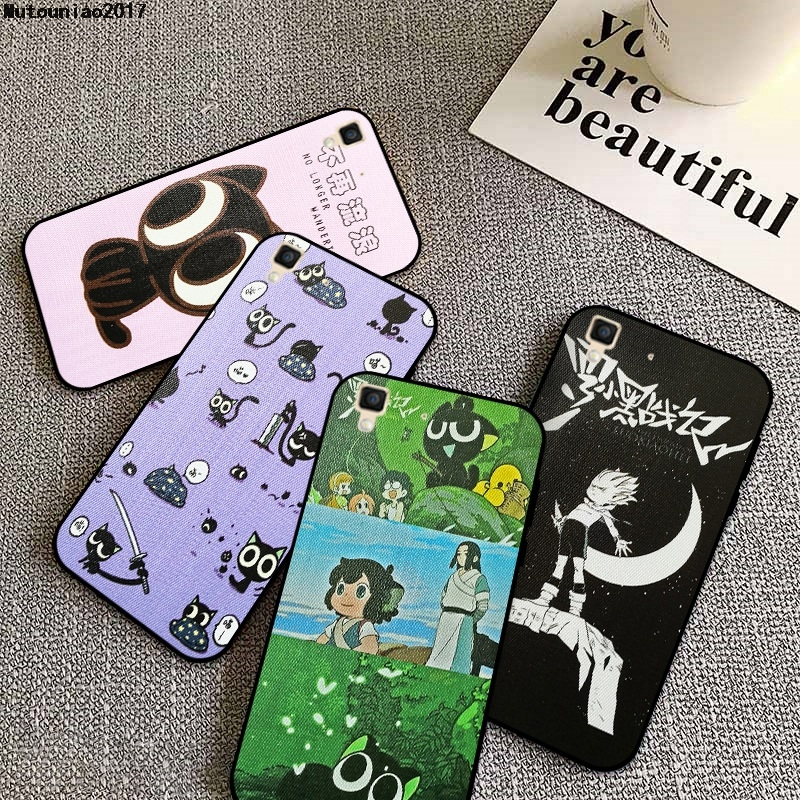 Black Cat #2 Silicon Soft TPU <font><b>Case</b></font> Cover For <font><b>Vivo</b></font> V3 V5 V7 V9 Y75 Y79 Y85 X9 X9S Y91i Y91C Max Plus Lite image