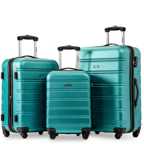 3pcs/set 4Color Hard ABS 20/24/28 Inch Size Rolling Luggage Spinner New Fashion Travel Suitcase For Bussiness Men/Women