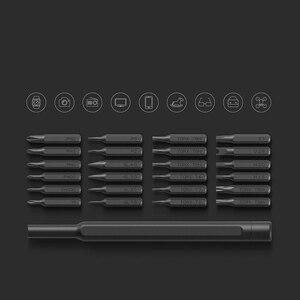 Image 5 - Hot Originele Xiaomi Mijia Wiha Dagelijks Gebruik Schroevendraaier Kit 24 In 1 Precisie Magnetische Bits Doos Diy Schroevendraaier Set voor Smart Home