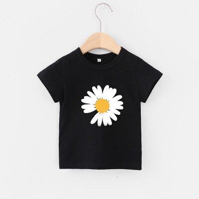VIDMID Baby girls t-shirt Summer Clothes Casual Cartoon cotton tops tees kids Girls Clothing Short Sleeve t-shirt 4018 06 21