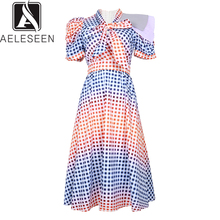 Gradient Plaid AELESEEN New