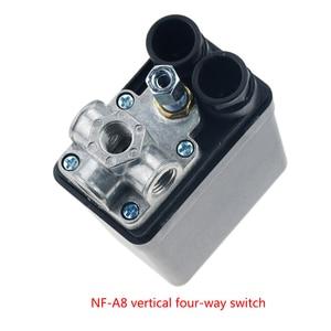 "Image 3 - 1/4 ""normalde kapalı 220/380V 20A 90 125PSI hava kompresörü basınç kontrol anahtarı vana plastik kabuk"
