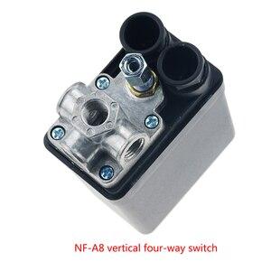 Image 3 - Valve de commutateur de contrôle de pression pour compresseur dair, 1/4 pouces, 220/380V, 20A 90 125PSI, coque en plastique