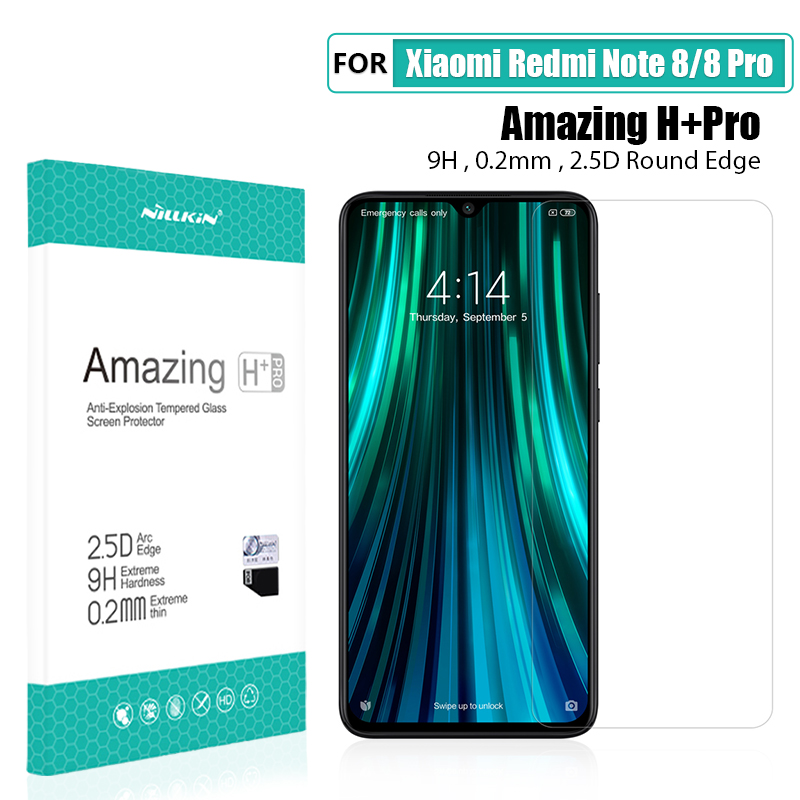 Image 5 - for xiaomi redmi note 8 pro Glass Screen Protector NILLKIN Amazing H/H+PRO/XD+ 9H redmi note 8 Tempered Glass Protector 6.3/6.53-in Phone Screen Protectors from Cellphones & Telecommunications on