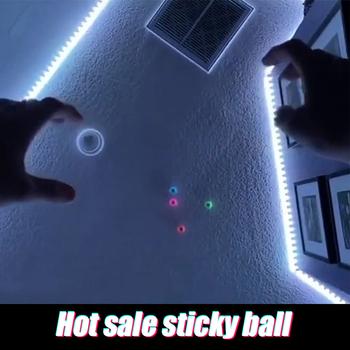 4 sztuk TPR piłka dekompresyjna przyklejony Squash Ball ssania dekompresji zabawki przyklejony cel piłka zabawki dla dzieci zdolność odpowiedzi tanie i dobre opinie CN (pochodzenie) Z tworzywa sztucznego Blask w ciemności Unisex 0-12 miesięcy 13-24 miesięcy 2-4 lat 5-7 lat 8-11 lat