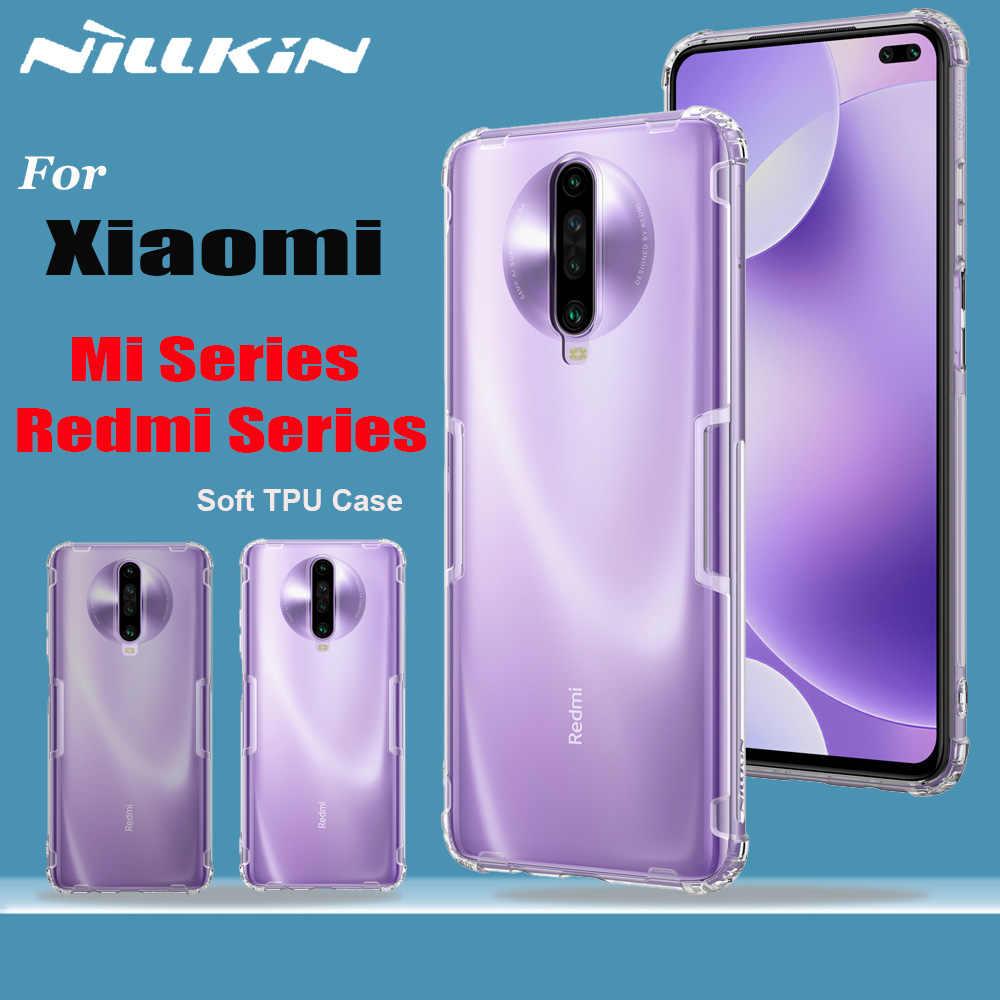 Nillkin シャオ mi mi 9 SE 9T プロケースソフト Tpu クリア電話フルカバーケースシャオ mi 赤 mi 注 10 8T 8 7 プロ K30 5 グラム K20 プロ