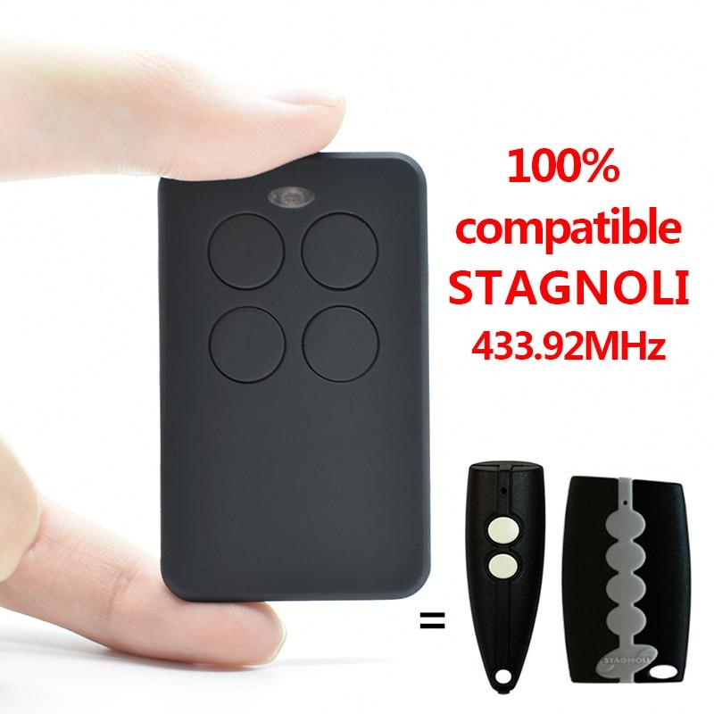 STAGNOLI Garage Door Remote Control 433.92mhz STAGNOLI KALLISTO,VENUS AV223 Transmitter 433MHz Garage Command Gate Control
