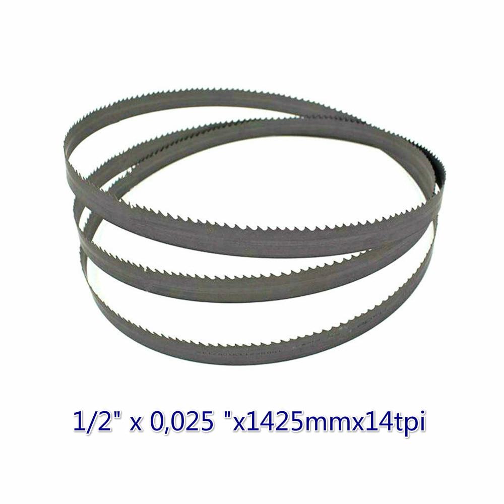 13*0,65*1425 * 14tpi M42 Durable New Bimetal Band Saw Blades 56-1/8