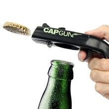 Portable Bottle Cap Gun Creative Bottle Cap Bottle Opener Beer Bottle Opener Bar Tool Beverage Bottle Opener Wine Accessories