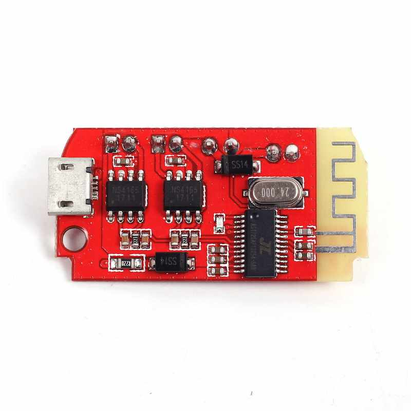 Ct14 Micro-4.2 Stereo Power Amplifier Papan Modul Bluetooth 5Vf 5 W + 5 W Mini dengan Pengisian Port untuk Suara box Lambat To Reassert Oneself