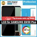 100% Оригинальный Super AMOLED дисплей для Samsung Galaxy S9 G960 G960F S9 Plus G965 G965F ЖК сенсорный экран дигитайзер + Сервисный пакет