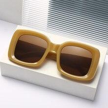 Wuhao – lunettes de soleil pour femmes, nouvelle tendance, mode européenne et américaine, prise de vue de rue, monture rétro, pour l'extérieur, 48 pouces
