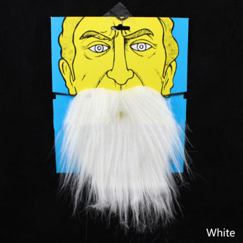 Durable Costume Party Halloween Fake Beard Moustache Artificial Mustache Disguise Tool