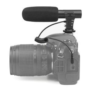 Image 5 - MIC 05 3.5mm סטריאו מצלמה מיקרופון ראיון צילום סטריאו וידאו חיצוני מחשב הקלטת מיקרופון עבור ניקון Canon DSLR מצלמה