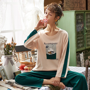 Image 2 - Lorraine Fernandaผ้าฝ้ายผู้หญิงชุดผู้หญิงพิมพ์ชุดนอนแขนยาวชุดนอนสูทชุดนอนสตรีชุดเซ็กซี่Homewear