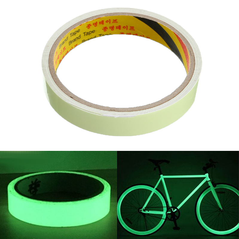 20/12/10/15mm Luminous Tape Self-adhesive Glow In The Dark Safety Stage Home Decorations Stricking Warning Tape