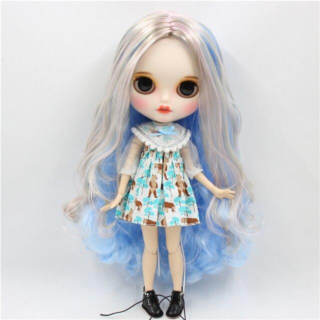 Kylie – Premium Custom Blythe Doll with Smiley Face 1