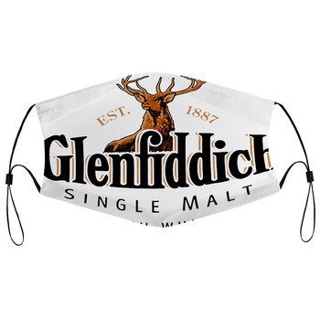 Dust mask with filter High Quality Uomo Donna Glenfiddich valle Dei Cervi Whisky Single Malt image