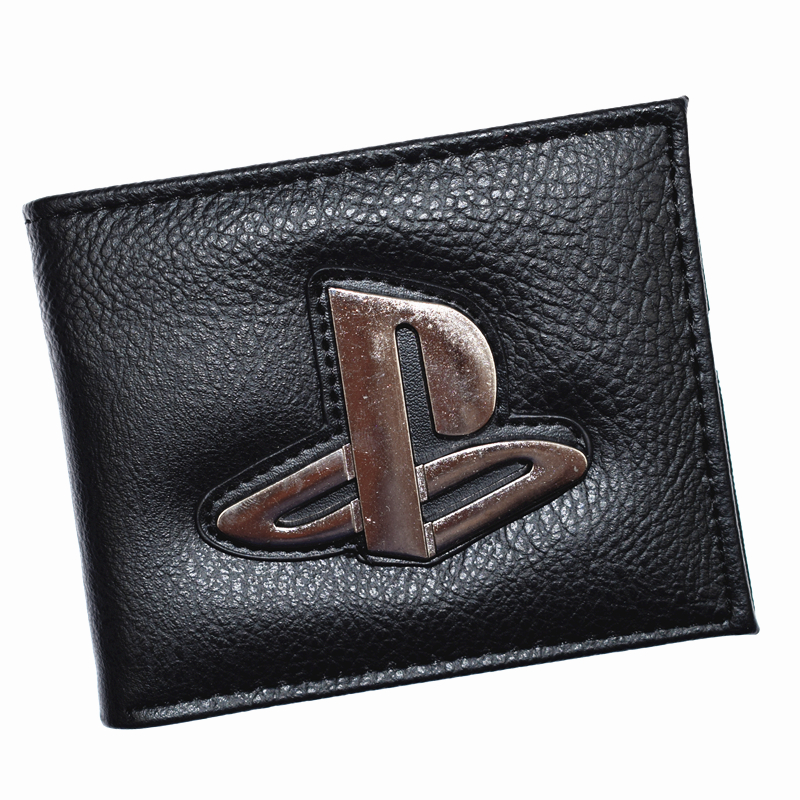 New Arrival Playstation Wallet Men's Short Purse With Coin Pocket