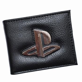 Мужские кошельки с карманом для монет в стиле Playstation