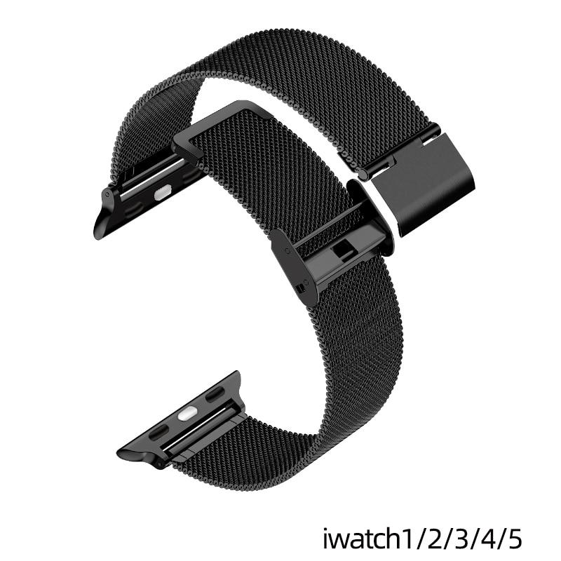 Pulseira do relógio Pulseira de Laço Milanês para Apple