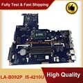Per Lenovo B50-70 B50-80 Scheda Madre Del Computer Portatile I5-4210U SR1EF ZIWB2/ZIWB3/ZIWE1 LA-B092P Mainboard Lavoro Perfettamente Trasporto Veloce