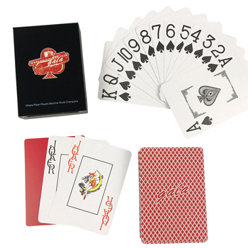 K8356 NEW GALA Baccarat PVC Plastic Waterproof Frosting Playing Cards Games 2.48*3.46 inch Texas Holdem Poker Board