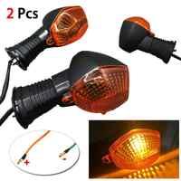 Universal Motorrad Blinker Licht Für Suzuki 650 Bandit V Strom GSF SV SFV DRZ GSXR DL Zubehör Motorräder Signal lampe