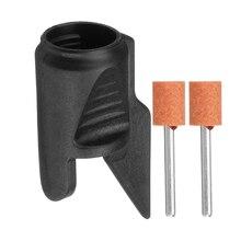 Точилка для заточки пилы Набор для крепления сверла адаптер для Dremel сверла вращающиеся электроинструменты аксессуары для мини-дрели набор