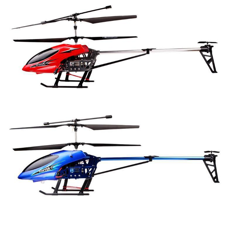 Hot Selling Drop-resistant Large Remote Control Aircraft 3.5 Way Wireless Large Size Remote Control Helicopter Model Children Gi