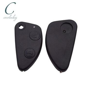 Cocolockey-funda de control remoto plegable para coche, 2 botones, 3 teclas de...