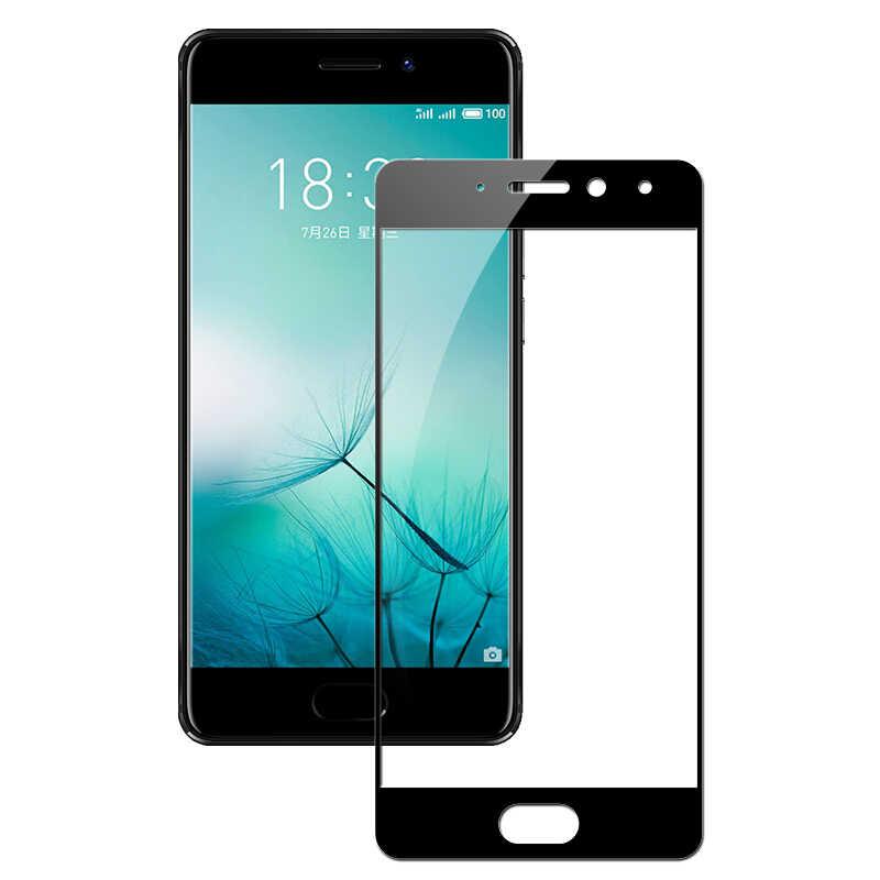 9D pełna pokrywa szkło hartowane dla Meizu M6 uwaga M5 uwaga M3 uwaga Pro 7 Plus M3S M3E M5 M5S m5C M6 M6T telefon szkło ochronne Film