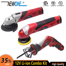 Reciprocating-Saw-Polisher Battery-Accessories Power-Tool-Combo-Kit Angle-Grinder Cordless