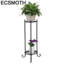 Plante Salincagi Decorer Dekarosyon Varanda Decorative Metal Shelf Saksisi Balcony Plant Stand Balcon Balkon Flower Iron Rack