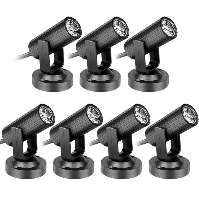 1W LED Beam Light Spotlight Effect Stage Lighting Lamp For KTV DJ Bar Disco Bar KTV Party Lighting Effect AC 85-265V
