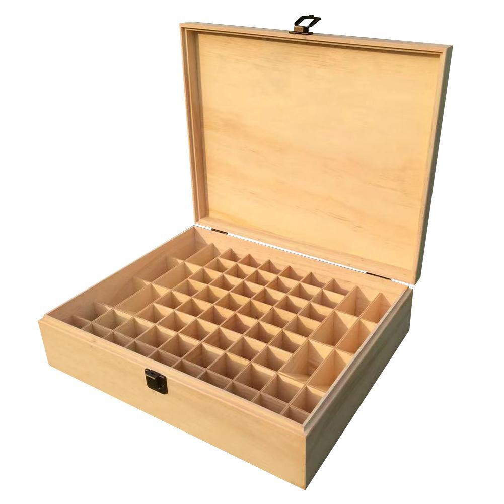 68 сетки эфирное масло косметика парфюмерия диспенсер деревянный ящик для хранения Чехол масло для ароматерапии бутылка Органайзер Премиум