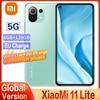 Global Version Xiaomi Mi 11 Lite 5G Smartphone RAM6GB+ ROM128GB Snapdragon 780G AMOLED Full Screen 64MP 4250mAh Battery With NFC