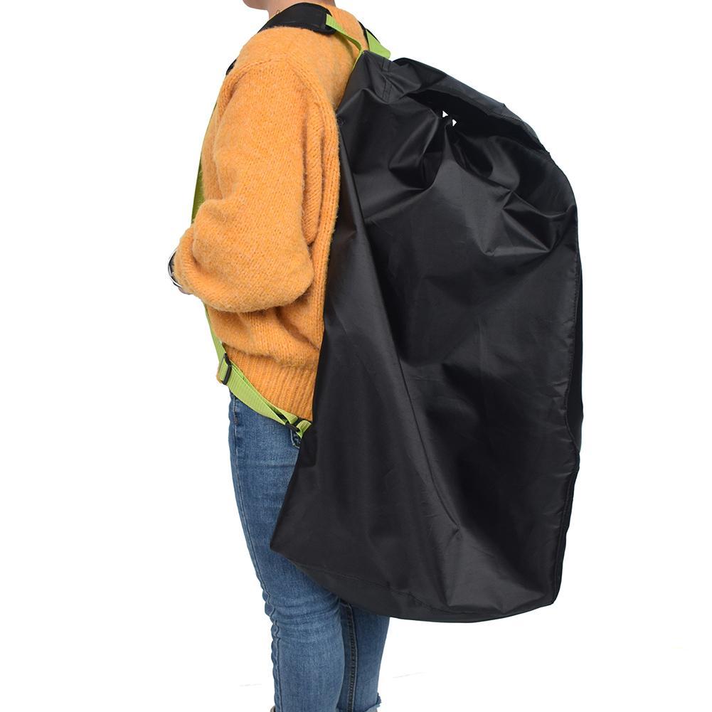 Children Safety Seat Storage Bag Kids Car Seat Cover Baby Stroller Accessories Pram Knapsack Black Cloth Travel Bag For Baby
