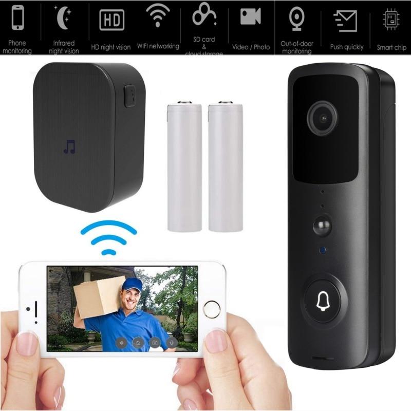 WiFi 720P Video Doorbell Camera,Waterproof IP65 Wireless Doorbell With Cloud Storage And Security Camera. n