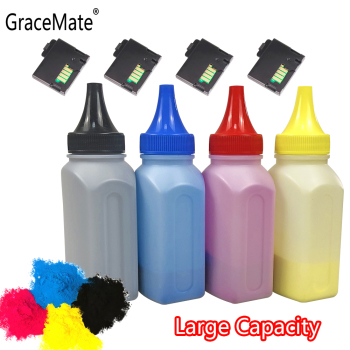 GraceMate 4 Color Bottled Toner Powder Cartridge Chip Compatible For Xerox Phaser 6020 6022 Workcentre 6025 6027 Printer Refill 30k 106r01304 toner chip for xerox workcentre 5222 5225 5230 laser printer copier cartridge