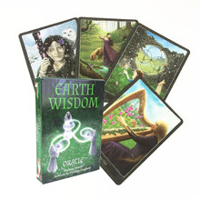 Tarot-Cards Party-Board-Games Earth-Wisdom English Family for Holiday Instructions