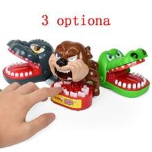Funny Toy Crocodile Dog Monster King Bite Finger Game Fun Novelty Gag Child Play Family Teeth Joke