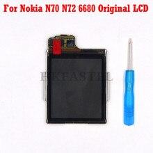 For Nokia N70 N72 6680 Mobile phone Original LCD Screen Digi