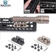 WADSN Tactical Weapon Flashlight Mount M-lok Keymod Rollover Picatinny For Surfire M300 M600 M300V M600V M600B