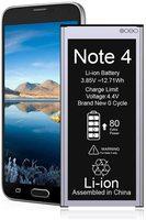 Ockared-Batería de repuesto Original para Samsung Galaxy Note 4, 3300mAH, batería duradera de alta capacidad para teléfono móvil Samsung